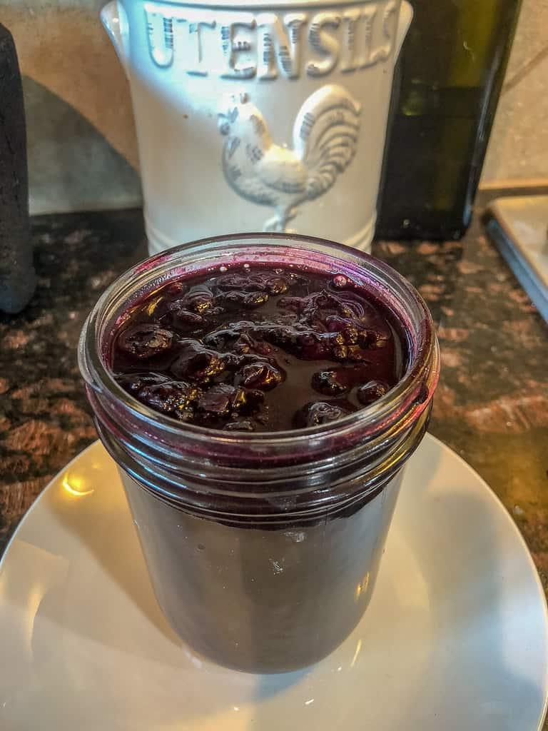 Keto Blueberry Sauce Recipe
