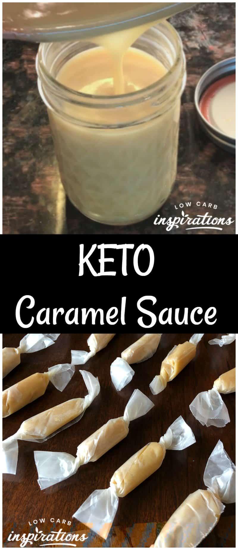 How to Make Sugar Free Caramel Sauce and Keto Caramels!