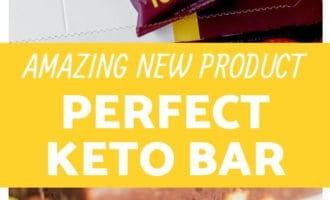 Perfect Keto Bar Products