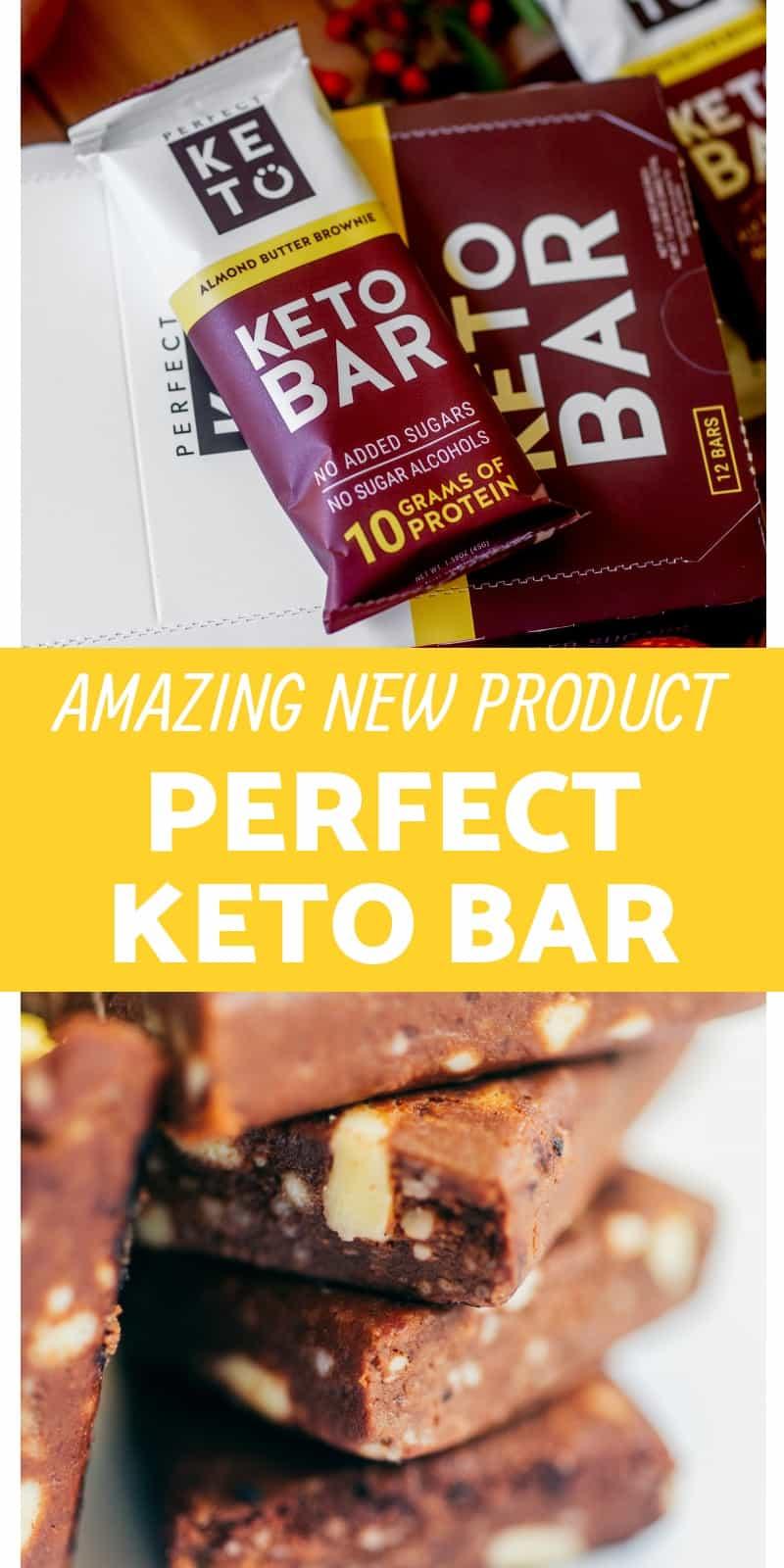 Perfect Keto Bar Products
