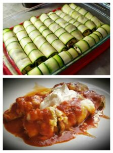 Keto Chicken and Cheese Enchiladas