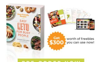Pre-Order Keto Friendly Recipes