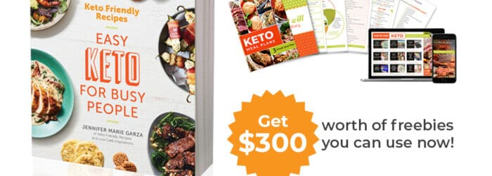 Keto Friendly Recipes Cookbook is Available for Preorder!