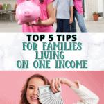 Best Money Saving Tips for One Income Families