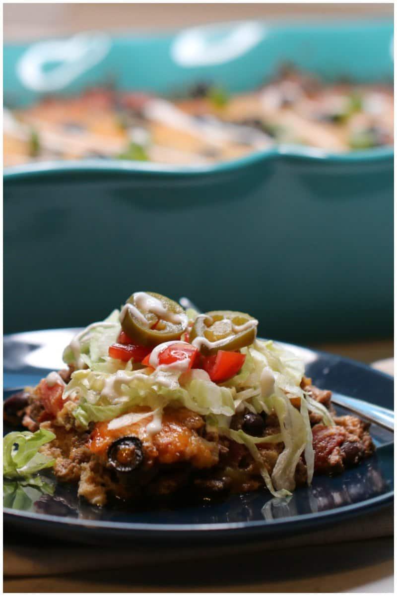 Keto Taco Casserole Recipe