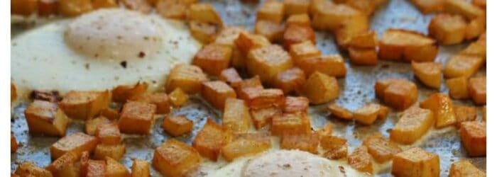 How to Make Roasted Turnips Hash Browns