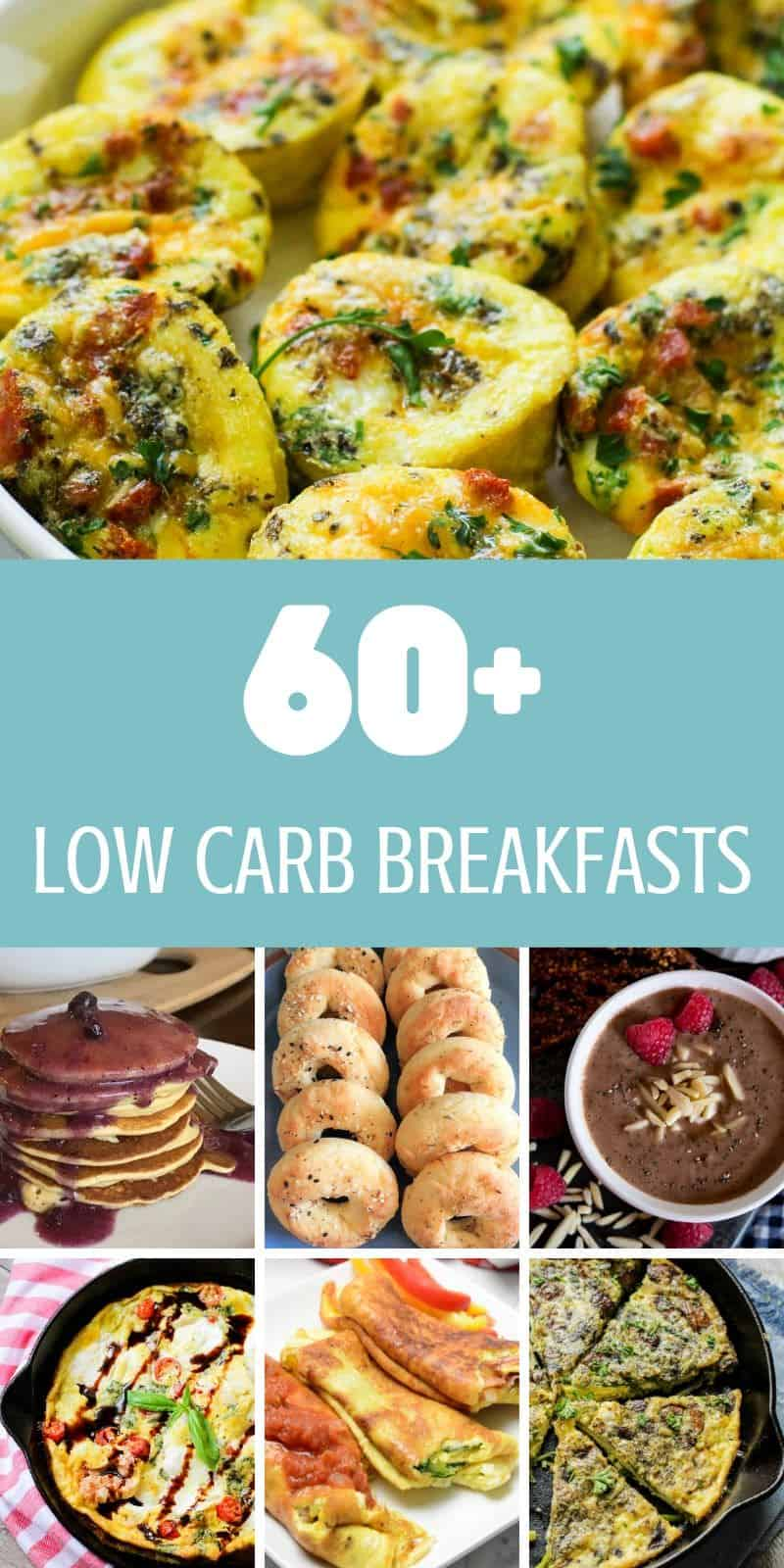 These 60+ low carb breakfast ideas for the keto diet are sure to start your mornings off on the right foot. Not only keto/low carb, but they are good too!