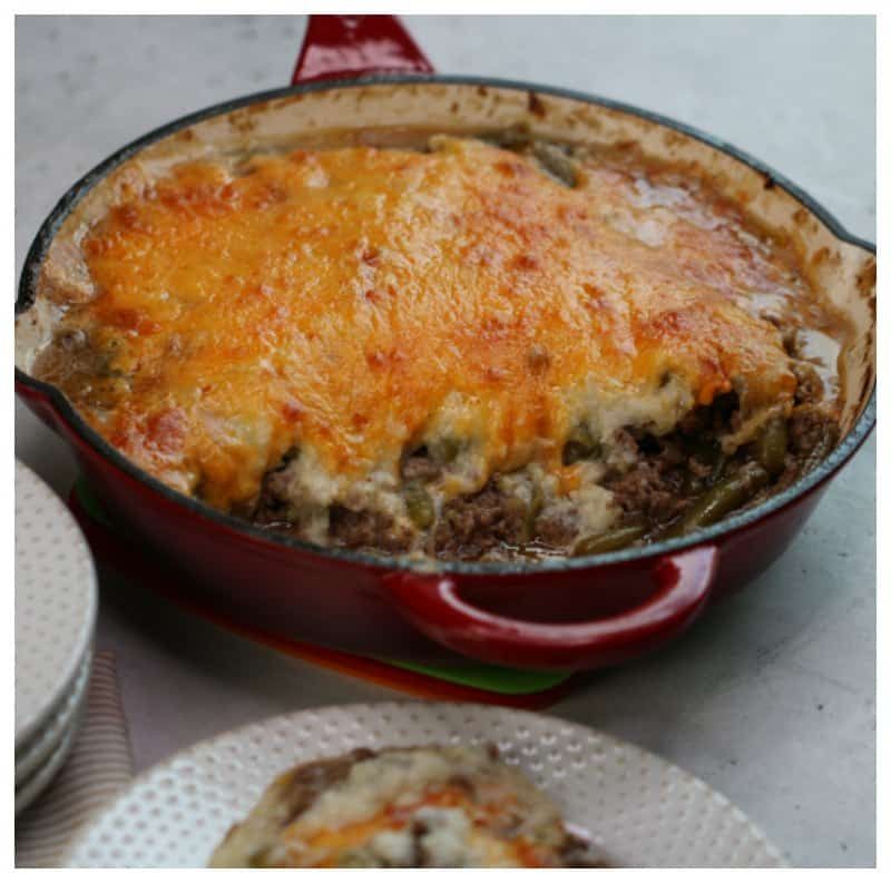 Keto Ground Beef Casserole Recipe