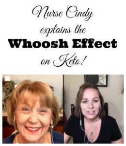 Nurse Cindy Whoosh Effect Keto