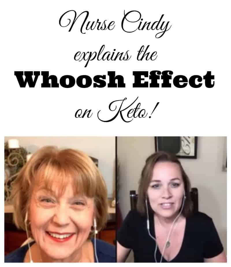 Nurse Cindy Whoosh Effect Keto