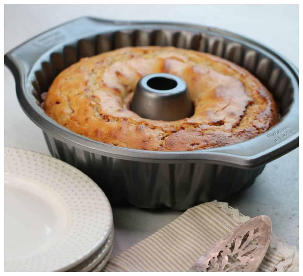 Raspberry Lemon Bundt Cake Recipe
