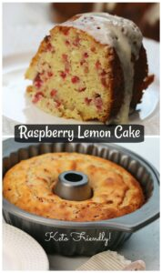 Raspberry Lemon Bundt Cake Recipe
