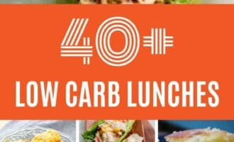 These 40+ Low Carb Lunch Ideas for the Keto Diet are perfect all year long. There is literally something for everyone on this list.