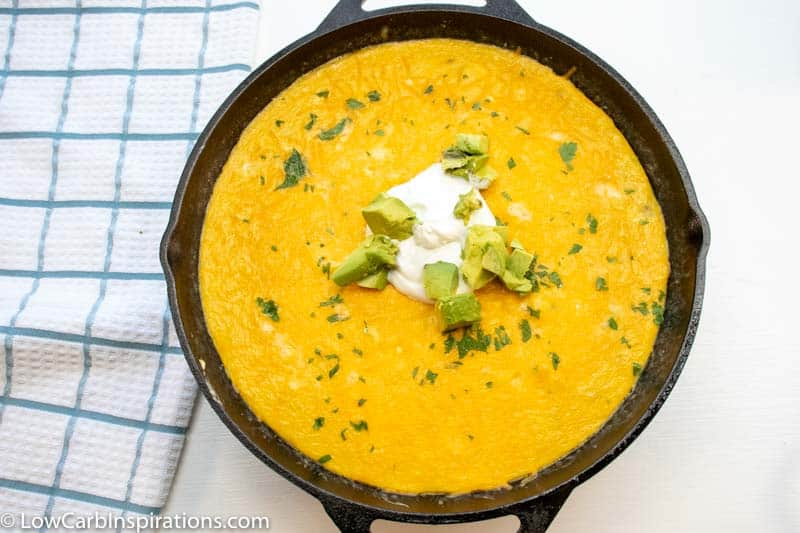 Chile Relleno Casserole recipe that's keto friendly