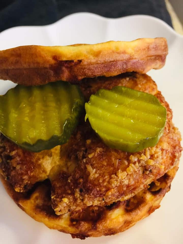 Chickfila Chaffle sandwich recipe