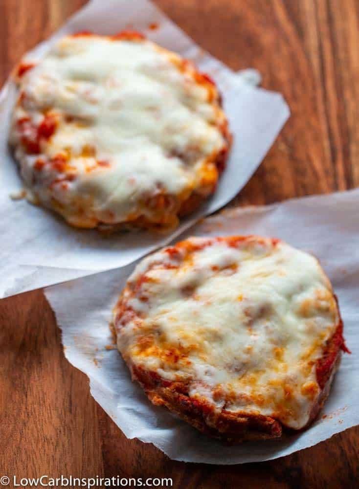 Easy Chicken Parmesan Chaffle Recipe