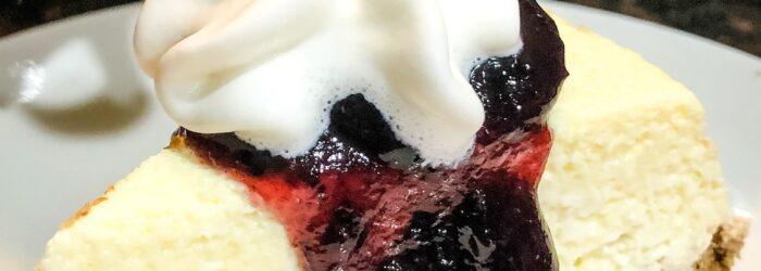 Keto Vanilla Cheesecake (made in a Pressure Cooker)