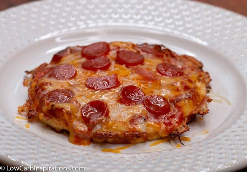 Keto Chaffle Pizza Recipe