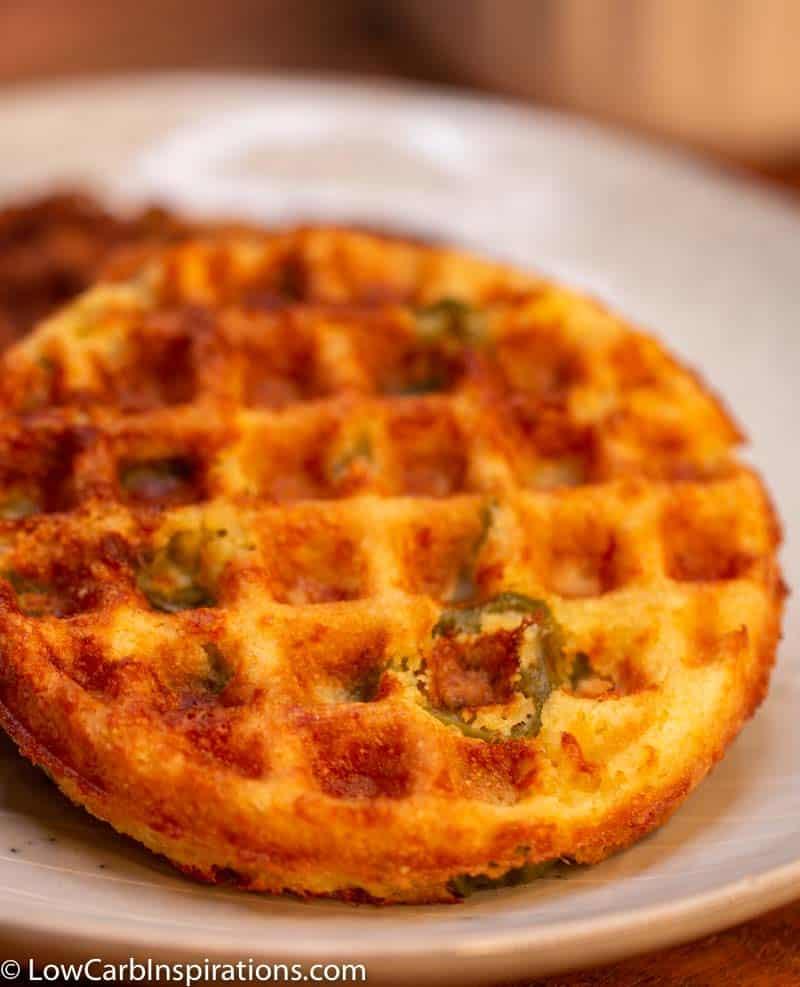 Keto Cornbread Chaffle Recipe