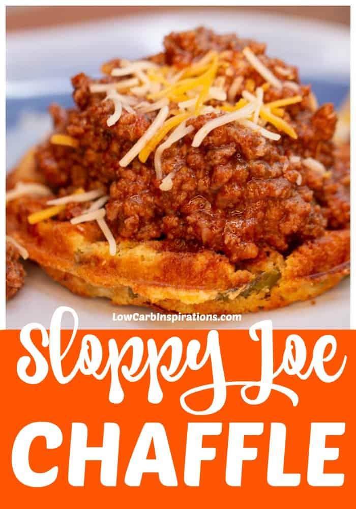 Keto Sloppy Joe Chaffle Recipe