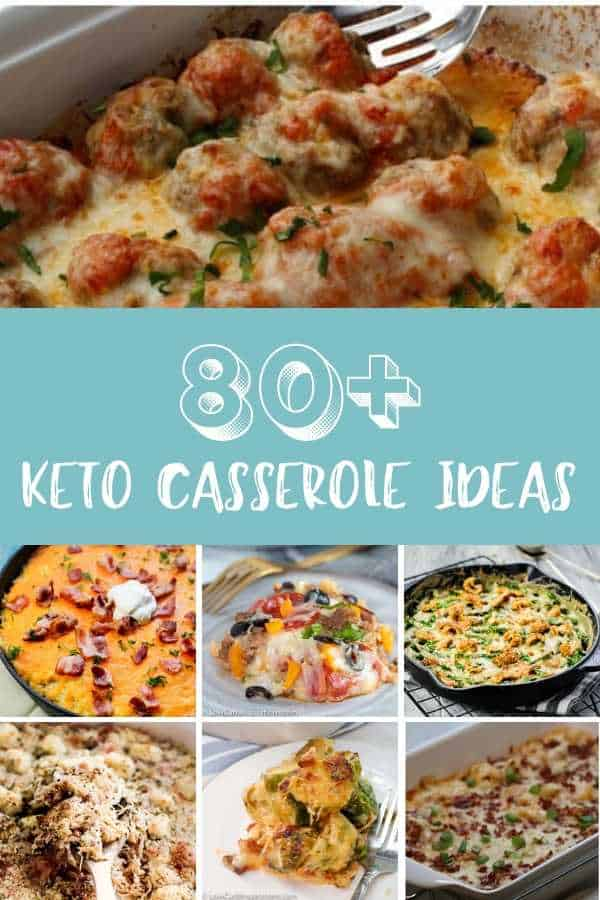 80+ Best Keto Casserole Recipe Ideas