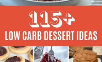 The Ultimate List of Keto/Low Carb Dessert Ideas